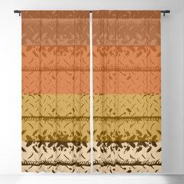 Desert Tread Plate Blackout Curtain