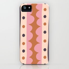 Rick Rack Candy iPhone Case
