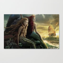 Sirens of the Caribbean Canvas Print