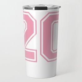 Sports Jersey Style Class of 2020 High School Senior Pullover Hoodie Travel Mug