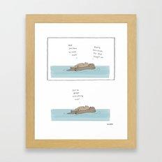 Google Framed Art Print