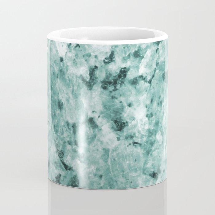 Mint Green Crystal Marble Coffee Mug