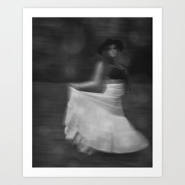 It's a Blur Art Print