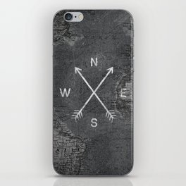 Compass (Map) iPhone Skin