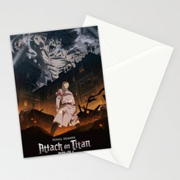 Attack on titan, Levi Ackerman, Aot Poster, Hoodie Stationery Cards