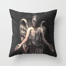 I've Forgotten Why I Shouldn't Blink Throw Pillow