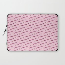 Wizard and Witch Pattern | Magic Sorcery Conjuring Laptop Sleeve