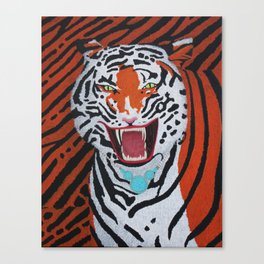 Tiger Mom Canvas Print