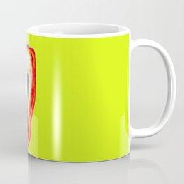 Yellow and red pepper Coffee Mug