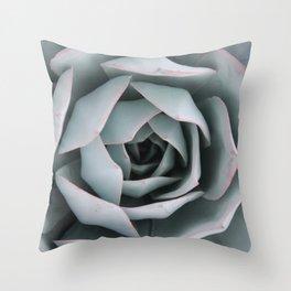 Serene Succulent Throw Pillow