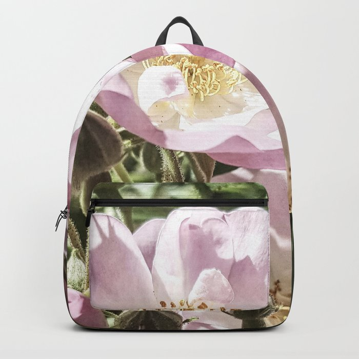 Cool And Luminous Summer Roses Backpack