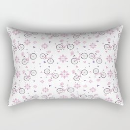 biking Rectangular Pillow