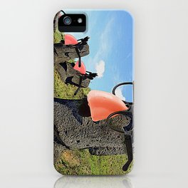 Groucho Island iPhone Case