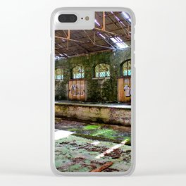 Abandoned Custom Shed Clear iPhone Case