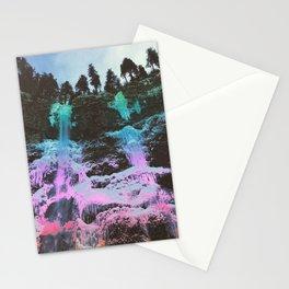 Rainbow Frozen Waterfall Stationery Cards