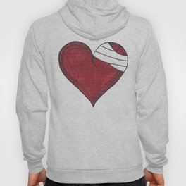 He Heals the Brokenhearted (Psalms 147:3) Hoody