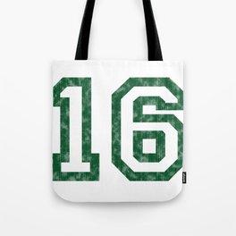 My worn sixteen Tote Bag