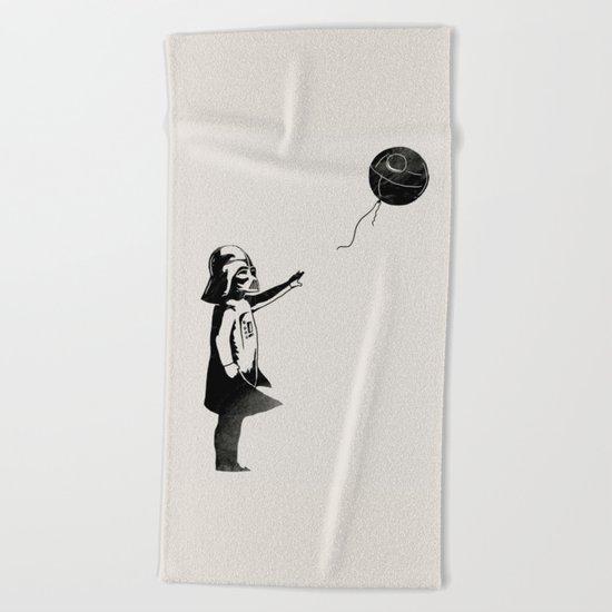 Let go the dark side Beach Towel