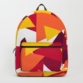 Bright & Warm Triangles Backpack