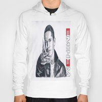 rap Hoodies featuring Rap God! by DrewzDesignz