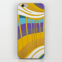 leah flores iPhone & iPod Skins featuring Leah by Jackie Elefante