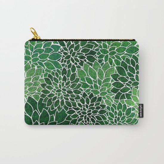 Floral Abstract 23 Carry-All Pouch