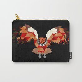 Geomatric Owl Carry-All Pouch