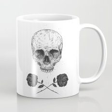 Skull N' Roses Coffee Mug