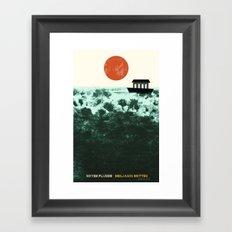 Noyes Fludde - Benjamin Britten Framed Art Print