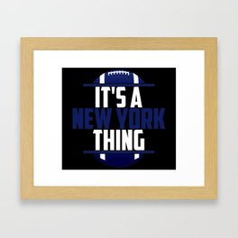Its A Baltimore Thing Framed Art Print