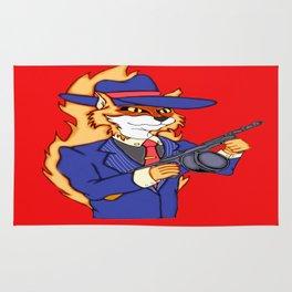 Rocco Gangster Fox Rug