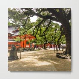 Sumiyoshi Shrine Metal Print
