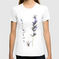 lavender T-shirts featuring Lavender by Renee Ansell