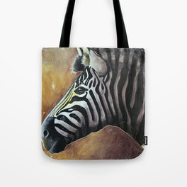 Zebra - Alfred the Traveler - by LiliFlore Tote Bag