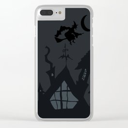 NIGHTMARE WITCH Clear iPhone Case