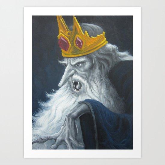 Ice King Art Print