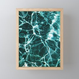 Water Framed Mini Art Print