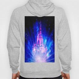 Princess Fairy Tale Enchanted Castle Pink & Blue Hoody