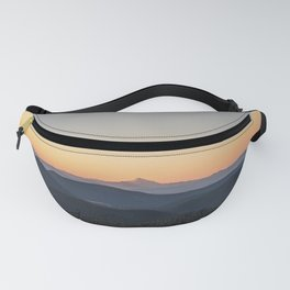 view from hood Fanny Pack