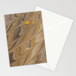 paint mixing stains abstraction Stationery Cards