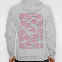 Pink cherries Hoody
