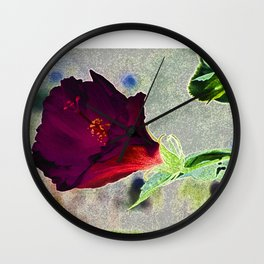 Lucky Flower Wall Clock
