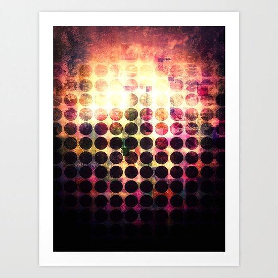 BORNING LIGHT Art Print
