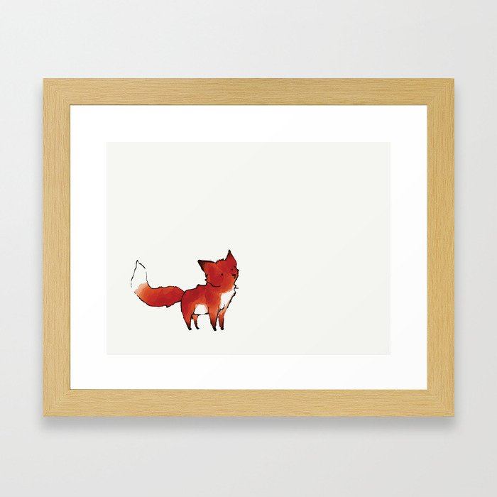 here for you Framed Art Print