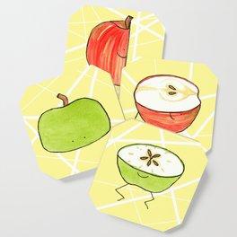 Apple Halves Coaster