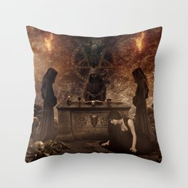 The Lord of Death Throw Pillow