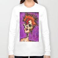aladdin Long Sleeve T-shirts featuring Aladdin Sane by brett66