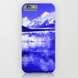Glacier Bay Blue iPhone Case