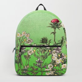 In an English Country Garden Backpack