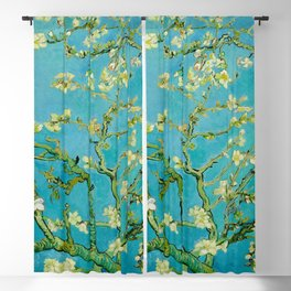 Almond Blossoms Painting by Vincent van Gogh Oil Painting Blackout Curtain